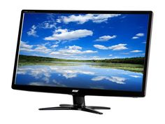 "Acer G6 Series G246HLAbd Black 24"" 5ms Widescreen LED Monitor 250 cd/m2 ACM 100,000,000:1 (1000:1)"