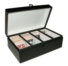 baseball card storage - Google Search customized sports trading cards, kids sports trading cards