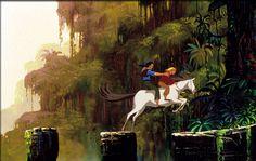 Tulio & Miguel On Horse Back - Road to El Dorado, The (2000) Disney Animated Movies, Disney Films, Disney And Dreamworks, Disney Pixar, Dreamworks Animation Skg, Animation Movies, Disney Animation, Miguel And Tulio, Lost City Of Gold