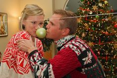 christmas party with ugly sweater contest and several minute to win it  Christmas games