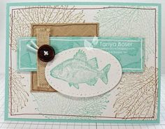 Marine Life by tanya27 - Cards and Paper Crafts at Splitcoaststampers