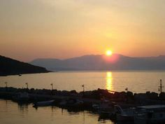 Sunset @ Episkopi port, Kalamos