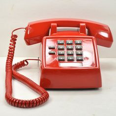 Lipstick Red 2500 Desk Phone, $105, now featured on Fab. Awnser the hotline in style.