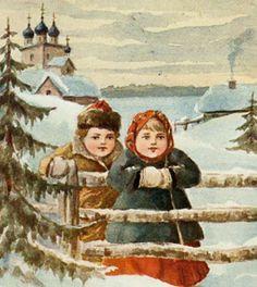 Old Christmas Postcards