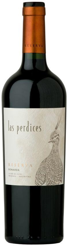 """""""Reserva"""" Bonarda 2011 - Bodega Viña Las Perdices, Luján de Cuyo, Mendoza---------  Terroir: Agrelo------------------------- Crianza: 12 meses en barricas nuevas de roble. 50% Francés y 50% Americano."""