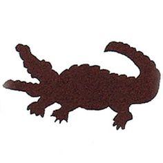 Cookie Cutter Alligator, Copper