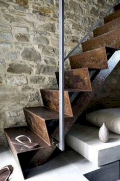 Professionals in staircase design, construction and stairs installation. In addition EeStairs offers design services on stairs and balustrades. Interior Stairs, Interior And Exterior, Interior Design, Architecture Details, Interior Architecture, Industrial Architecture, Steel Stairs, Steel Railing, Stair Steps