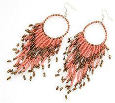 Ibiza oorbellen roze #ohsohip