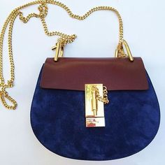 """Chloé 'Mini Drew' Leather & Suede Shoulder Bag // the """"it"""" bag for fashion right now @nordstrom"""