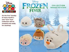 Frozen Fever Olaf Bag Set will release on November 3rd.