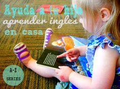 ¡Bienvenido a Bilingual Bebés! Enseña inglés a tu hijo pequeño en casa