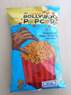 Bollywood Popcorn #vegan #traderjoes