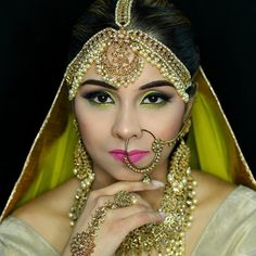 Indian Bridal Makeup is all about playing with bright colors & shimmer. The balance of these two give you the queen like elegant look & appearance. Femina Beauty does the work with efficiently. In Ontario no one is better that Femina Beauty in this task. You Look Beautiful, Beautiful Bride, Most Beautiful, Indian Bridal Makeup, Wedding Makeup, Makeup Services, Bridal Make Up, Bright Colors, Ontario
