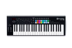 Novation Launchkey 49 USB Keyboard Controller for Ableton Live, Version Cable Drum Table, Drums Logo, Drum Chair, Digital Piano Keyboard, Midi Keyboard, Dream Music, Used Guitars, Drum Lessons, Ableton Live