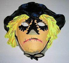 Rare Disney Scarecrow of Romney Marsh Halloween mask, Boxing Halloween Costume, Halloween Masks, Halloween Fun, Romney Marsh, Happy Autumn, Monster Mask, Trick R Treat, Vintage Tv, Vintage Halloween