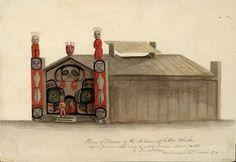9115d1e04c4b37bb53098f808214c189--tlingit-native-art Plank House Native Americans Home Project on native american chickee project, native american cherokee indian school project, native american longhouse project,