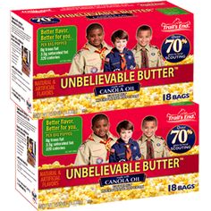 A Customer Favorite For Years Our 18 Pack Unbelievable Er Microwave Boy Scout Popcornboy