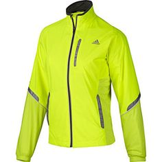 CLOTHING | RUNNING | Adidas Ladies Adiviz High Beam Jacket Running Windproof Jackets {Wiggle}