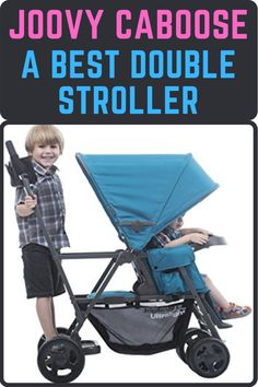 Joovy caboose ultralight graphite stroller is our last best double stroller for toddler and infant. its compact frame is easy to navigate and allows strolling with children of different ages. #bestdoublestroller #bestbabystroller #bestlightweightstroller #beststroller #stroller Double Stroller For Toddlers, Best Double Stroller, Best Baby Strollers, Double Strollers, Best Lightweight Stroller, Travel System, Infant, Best Baby Prams, Baby