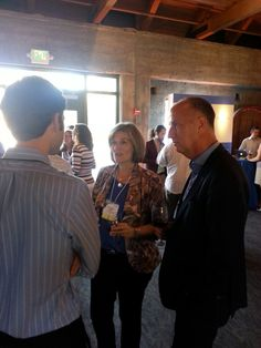 Eileen Sass and Darren Root get their questions answered at the Intuit Showcase. #IntuitSummit
