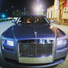 For my birthday, Mrs. Beasley picked me up in her brand new #RollsRoyceGhost and took me to #MrChow for dinner and #Mastros for dessert... || J August Richards || Instagram || #cast