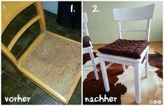 Bitte mehr davon: DIY Stühle verschönern/restaurieren