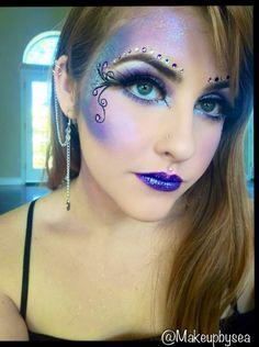 Purple fairy makeup tutorial