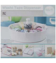 "We R Washi Tape Dispenser-4.5""X8.5"" $12.49"