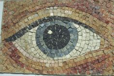 Photo of mosaic wall art I took when I was in a subway in europe.