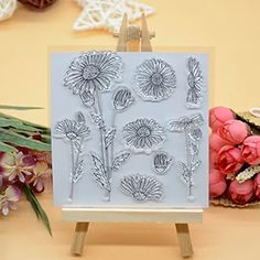 Welcome to Joyful Home 1pc Butterfly Sentiment Best Regards Rubber Clear Stamp for Card Making Decoration and Scrapbooking