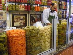 Turkish Food - Istanbul Pickles | Turkey's For Life...