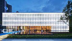 Glass Building, Facade Lighting, Glass Boxes, Facade Architecture, Mall, Outdoor Decor, Shop, Design