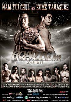 Road FC 13 Nam vs. Kume 2 Fightcard