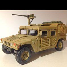Italeri 1/35 M998 Desert Patrol Humvee