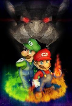 Mario y Luigi Super Smash Bros, Super Mario Bros, Mundo Super Mario, Super Mario World, Super Mario Brothers, Super Nintendo, Brothers In Arms, Video Game Characters, Anime Characters