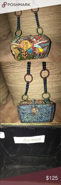 Mary Frances Bag This is a wonderful Mary Frances Bag. Gently used and in great condition. About 6 years old. Willing to negotiate price. Mary Frances Bags Mini Bags
