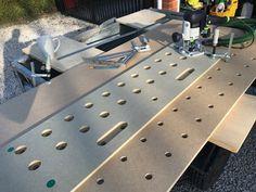 Garage Workshop, Workshop Ideas, Mitre Saw Station, Home Crafts, Diy Crafts, Woodworking Projects, Diy Projects, Mobile Workbench, Miter Saw
