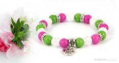 Szeretem az anyukámat ásványkarkötő A 17, Pandora Charms, Dangles, Beaded Bracelets, Gems, Charmed, Herceg, Jewelry, Minden
