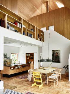 Binnenkijken In Een Houten Huis Vol Hoge Plafonds
