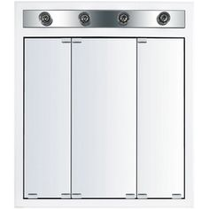 Kraftmaid 47 9 16 In White Surface Mount And Recessed