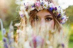 Gorgeous bohemian bride | For more wedding inspiration via www.vintageweddingfair.co.uk