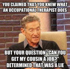 Occupational therapy meme