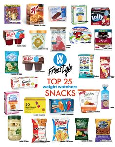 Diet Snacks Top 25 Snacks Under 3 Weight Watchers Points - 25 of the Best Low Point Weight Watchers Snacks under 3 points. Try these Weight Watchers Freestyle snack ideas available in Canada. Weight Watcher Desserts, Weight Watchers Snacks, Weight Watchers Tipps, Weight Watchers Meal Plans, Weigh Watchers, Weight Watchers Smart Points, Weight Watchers Program, Weight Watchers Motivation, Weight Watchers Products