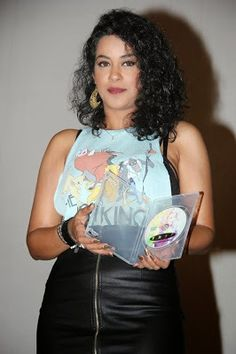 Mumaith Khan in Leather Skirt and Chest Print Tank Top | Bollywood Movies News Gossip Pics