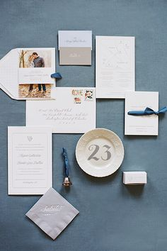 Classic wedding stationery suite by @simplesong   photography Abby Jiu