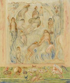 James Ensor 1860 - 1949 COQUILLES, CROUPES ET MOLLUSQUESJames Ensor   lot   Sotheby's