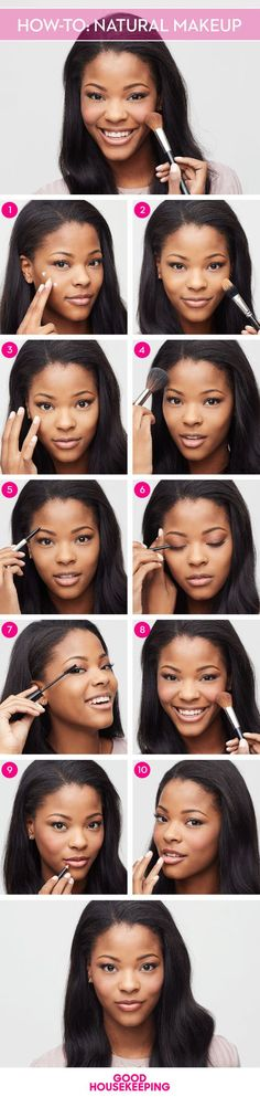 Pin this tutorial so you'll never forget how to get this perfectly polished, natural makeup!