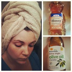2 Ingredient super moisturizing hair mask! Okay my hair needs this immediately it's so dry!