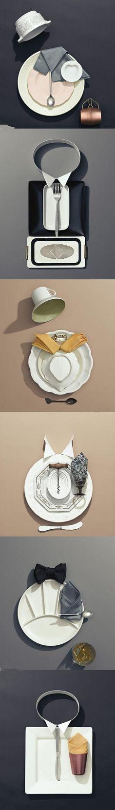 6 dinner table setting designs