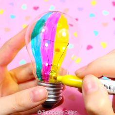 Diy Crafts Life Hacks, Diy Crafts For Gifts, Diy Home Crafts, Diy Arts And Crafts, Creative Crafts, Fun Crafts, Paper Crafts, Doll Crafts, Diy Bottle